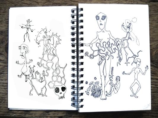aliendoodles