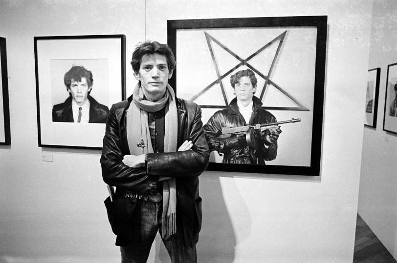 Mandatory Credit: Photo by Richard Young/REX/Shutterstock (104428a) Robert Mapplethorpe ROBERT MAPPLETHORPE EXHIBITION AT THE ICA, LONDON, BRITAIN - NOV 1983
